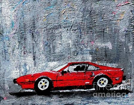 A Rainy Day in the Ferrari by Rita Brown