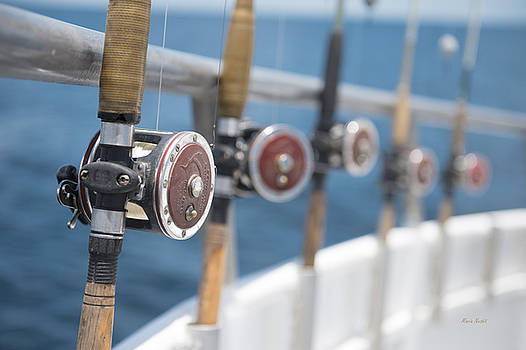A Reel Calm Day Offshore by Maria Nesbit