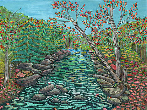 A River View by Janis Cornish