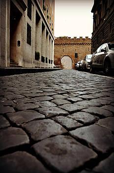 A Roman Street by Eric Liller