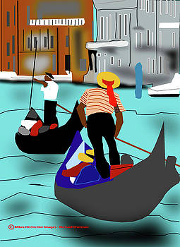 A Scene From Venice by Michael Chatman