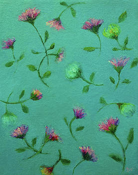 A Shower of Flowers by Mary Wolf