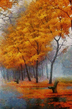 A Stand for Autumn by Mario Carini
