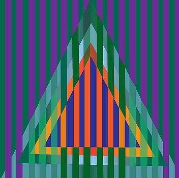 A Stylized Triangle by Michael Chatman