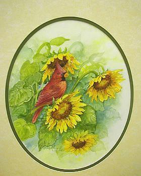 A Sunny Garden Spot by Lois Mountz