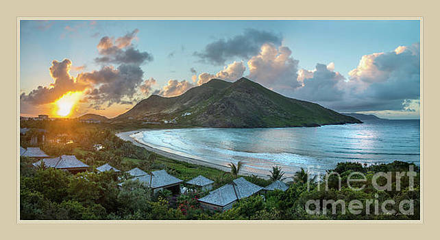 A sunset on Bay by Linda Olsen