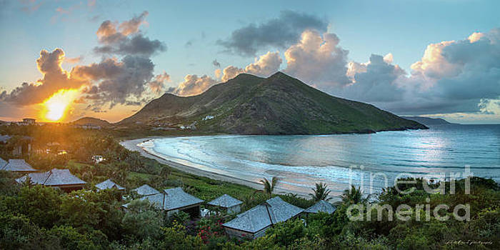 A Sunset on Sandy Bay by Linda Olsen