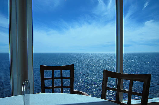 A Table by the Window by Noel Zia Lee