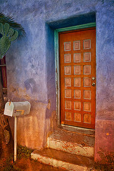 A Tucson Stoop by David Wagner