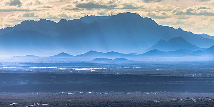A View of Kitt Peak  by Ed Gleichman