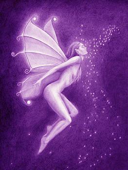 A Violet Word by Leonardo Pereznieto