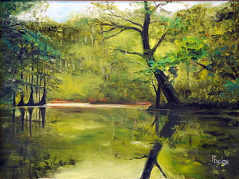 A Waccamaw Evening by Phil Burton