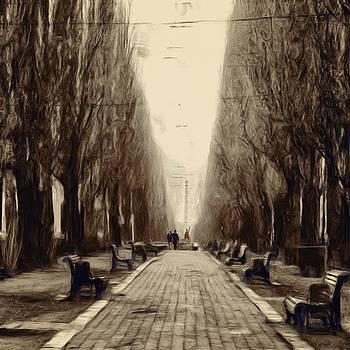 A Walk in Kiev by Brian Orlovich