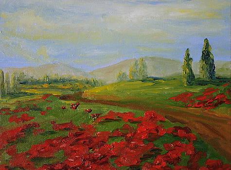 a walk in Tuscany by Martha Layton Smith