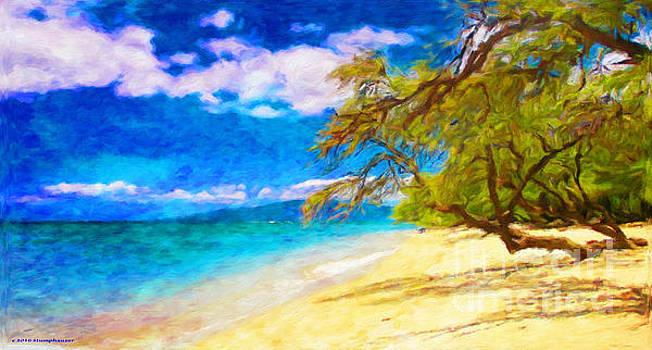 A Walk On The Beach by Jerome Stumphauzer
