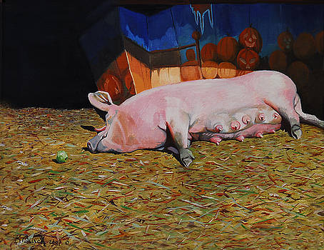 A Well Deserved Rest by Kerry Burch