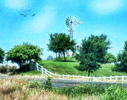 A Windmill of Your Mind by Joan Bertucci