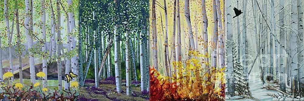 Stanza Widen - A Year in a Birch Forest