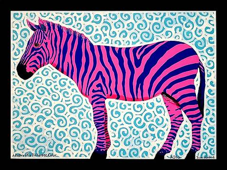 A Zebra of a Different Color by Jim Harris