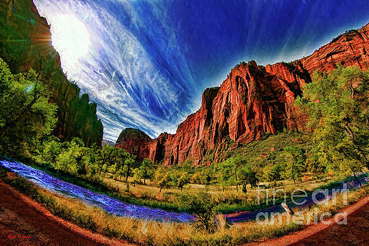 A Zion Road Side View by Blake Richards