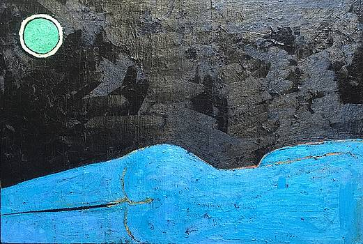 A 9 Oil on canvas 36 x 24 2015 by Radoslaw Zipper