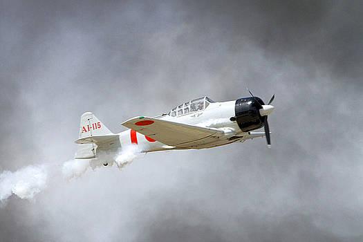A6M in Flight by Shoal Hollingsworth