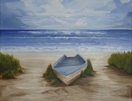 Abandoned Boat by Linda Bennett