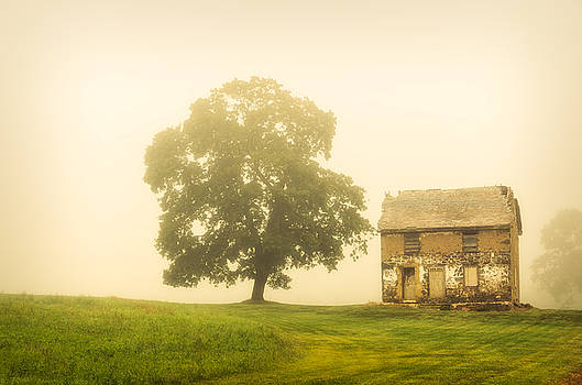 Abandoned House on Adams Dam Rd by Melissa Fague