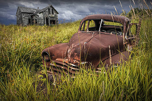 Randall Nyhof - Abandoned Vintage Car and Farm Homestead