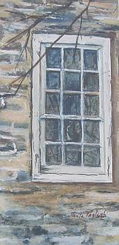 Abandoned Window by Paula Pagliughi