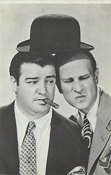 Abbott And Costello by Jay Milo