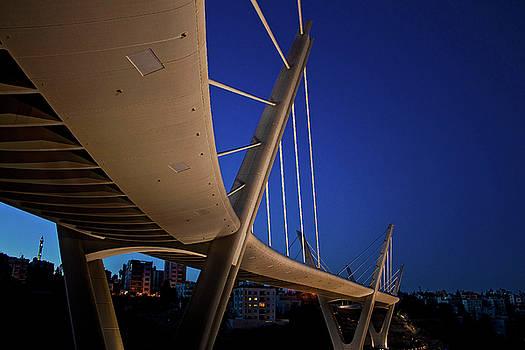 Abdoun Bridge Amman by Khaled Sharif