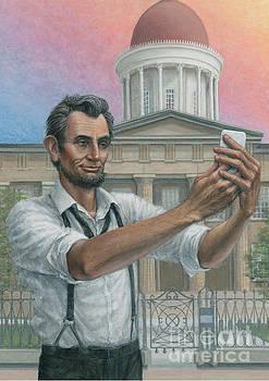 Abe's 1st Selfie by Jane Bucci