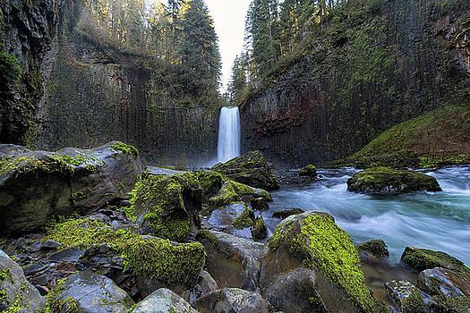 Abiqua Falls in Oregon State by Jit Lim