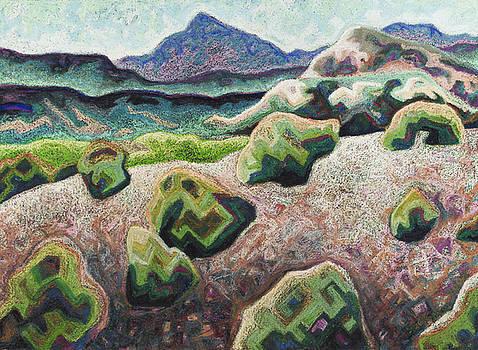 Abiquiu Hills by Dale Beckman