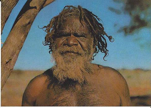 Aboriginal Male-australia-1995 by Jay Milo