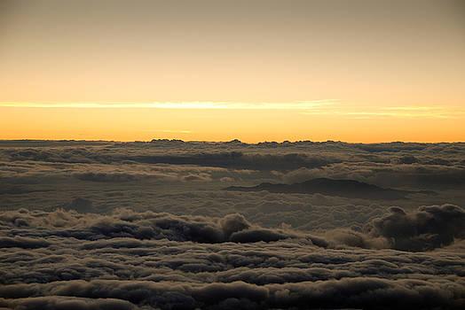 Above the Clouds, Haleakala, Hawaii by Preston Broadfoot