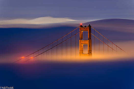 Above the Fog by Mike Ronnebeck