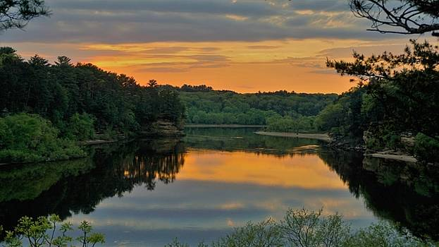 Above The Lower Dells by Jeff Murphy