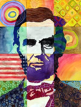 Hailey E Herrera - Abraham Lincoln Portrait Study
