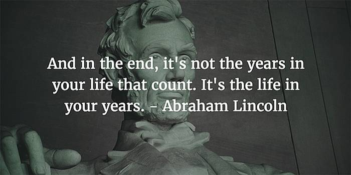 Abraham Lincoln Quote by Matt Create