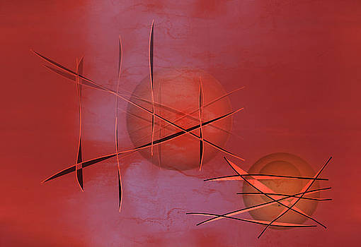 Abstract 21 by John Krakora