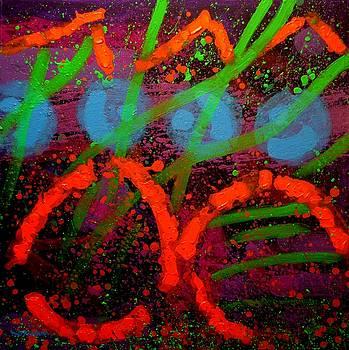 Abstract 211015 by John  Nolan
