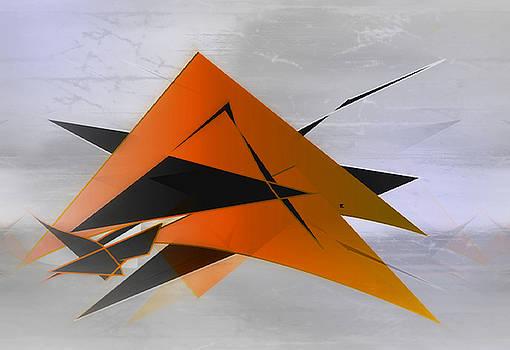 Abstract 40 by John Krakora