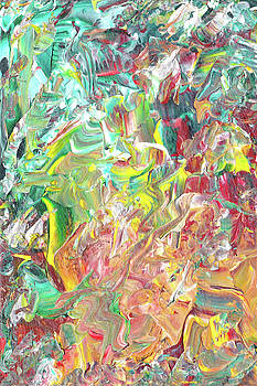 Abstract  Acrylic  One by Carl Deaville