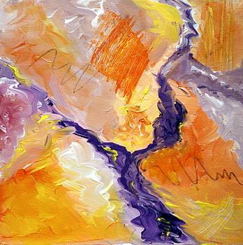Karyn Robinson - Abstract Art - Fire River