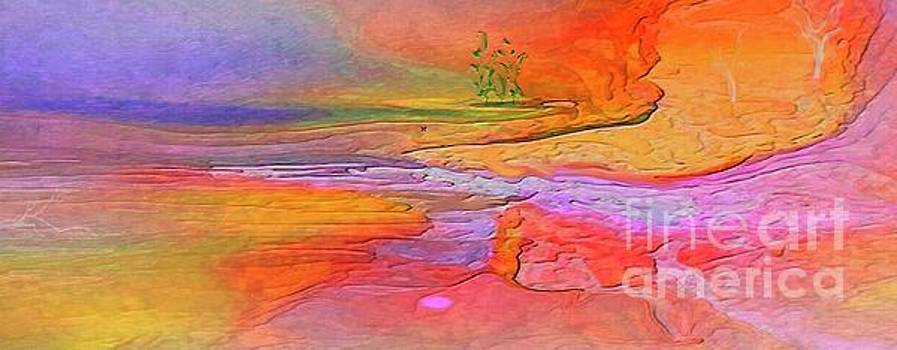 Abstract Beyond The Sea by Sherri Of Palm Springs