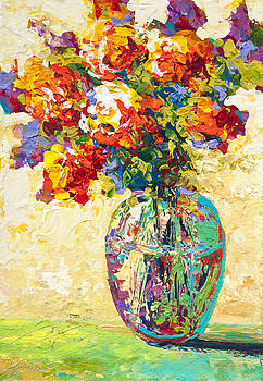 Abstract Boquet IV by Marion Rose