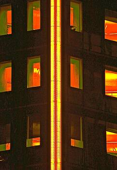 Abstract Building by Gillis Cone