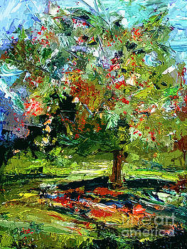 Ginette Callaway - Abstract Cherry Tree